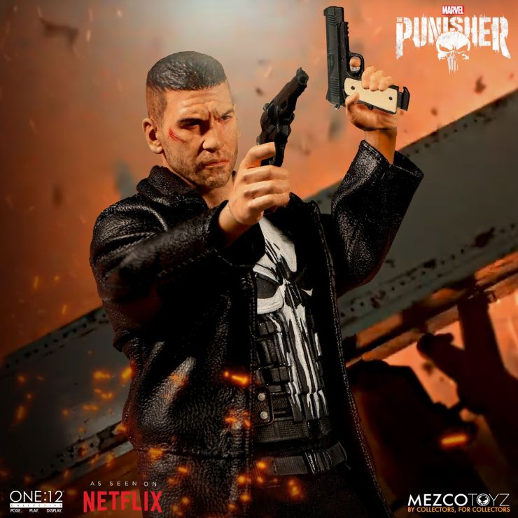 The One:12 Collective Punisher Figure From Mezco