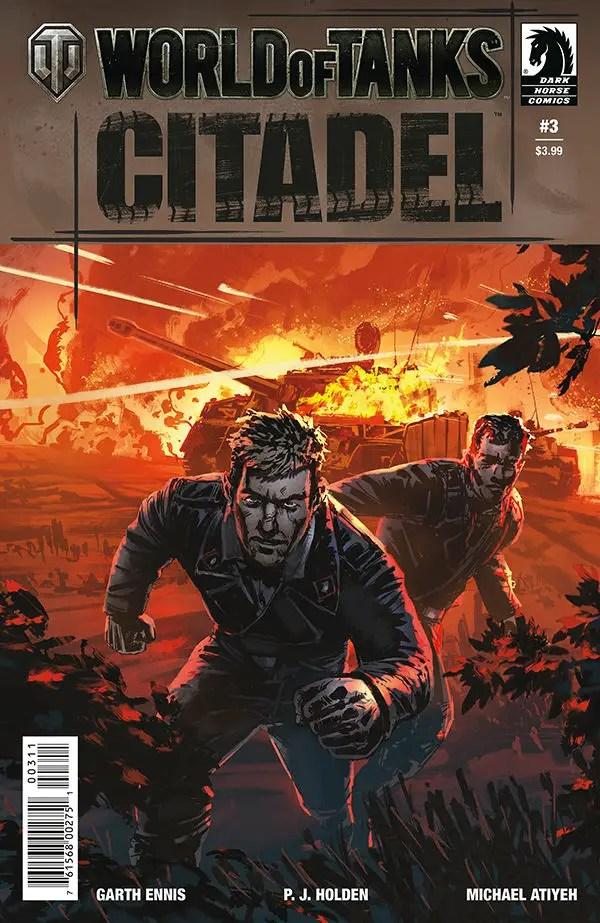 [EXCLUSIVE] Dark Horse Comics Preview: World of Tanks: Citadel #3