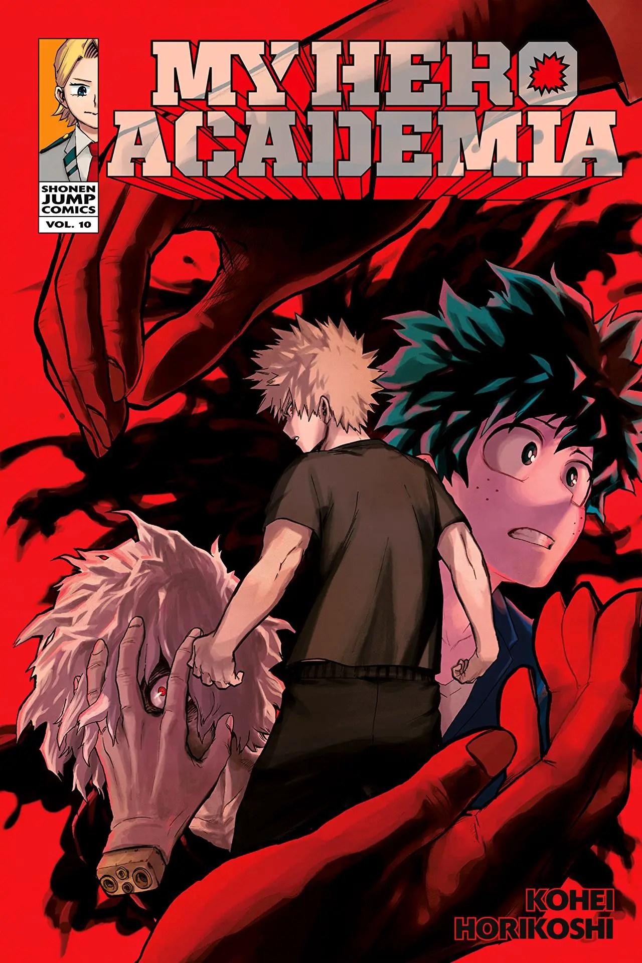 My Hero Academia Vol. 10 Review