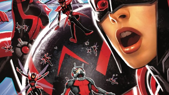 The Wasp and Ant-Man are trapped in the Microverse, which sucks for them.