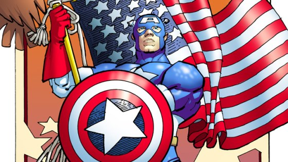 Marvel Reveals New CAPTAIN AMERICA #1 Variant Art by Frank Miller!