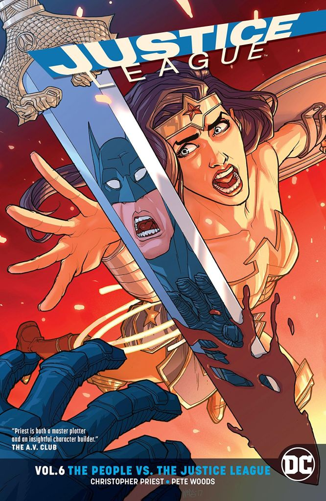 AiPT! Giveaway: Justice League Vol. 6 the People vs. the Justice League
