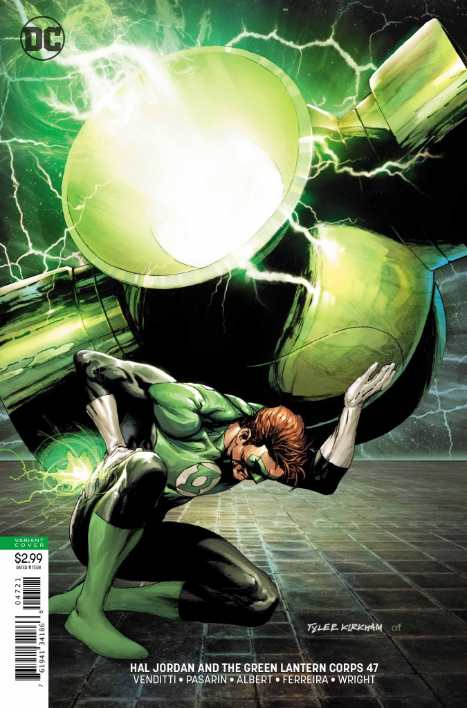 "Robert Venditti on writing Green Lantern for 5 years, ""no lethal force"" and more"