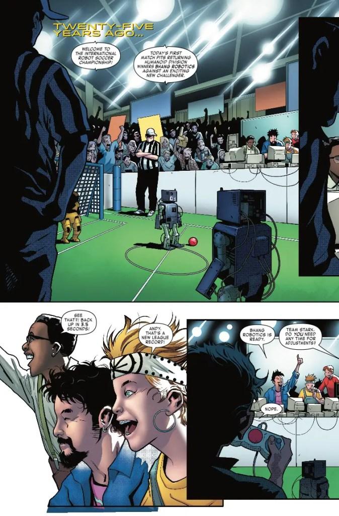Marvel Preview: Tony Stark: Iron Man #1