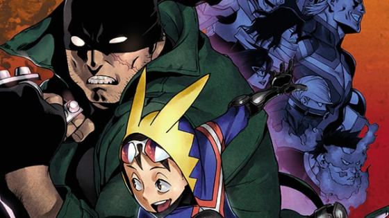 The My Hero Academia spin-off will hit shelves in July.