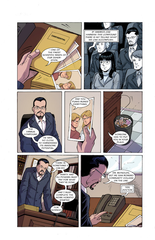 [EXCLUSIVE] Comixology Preview: Powers Squared #3