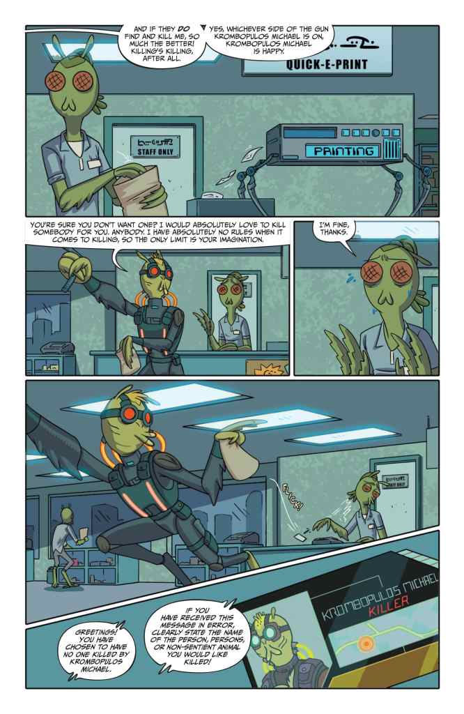 Oni Preview: Rick and Morty Presents: Krombopulos Michael #1