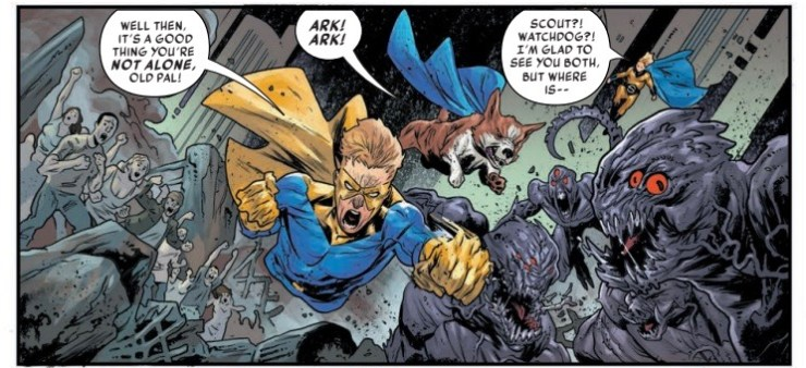 Sentry #1 review