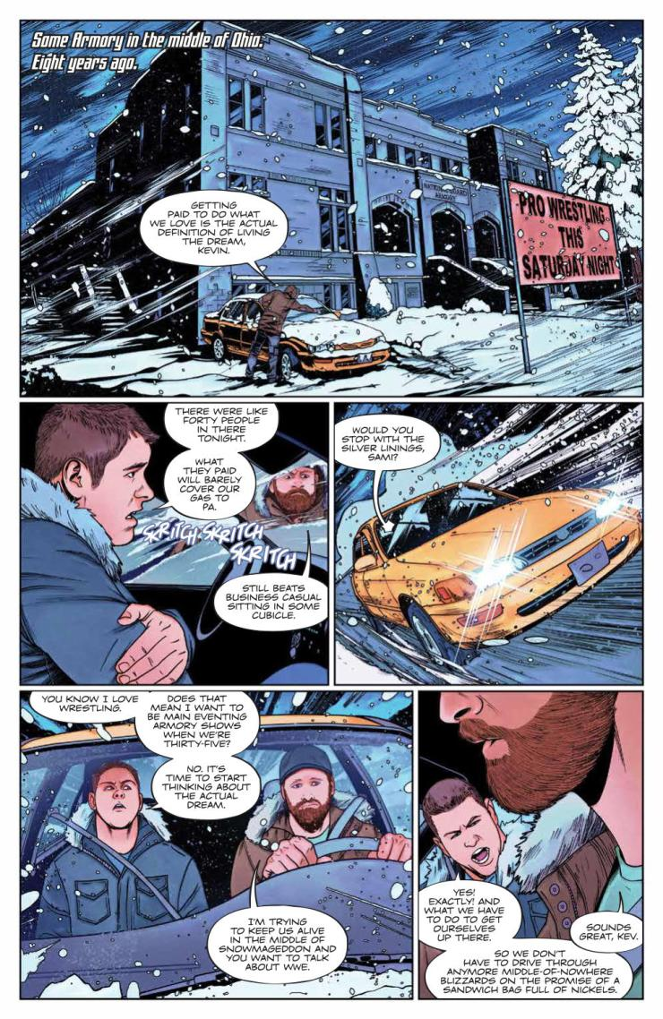WWE #18 review: Best friends forever