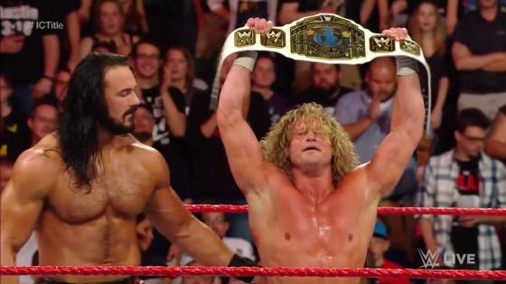 The Showoff pulls off the upset in an Intercontinental Championship open challenge.