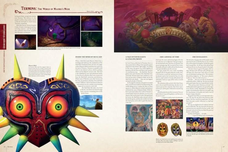 Dark Horse preview: The Legend of Zelda Encyclopedia