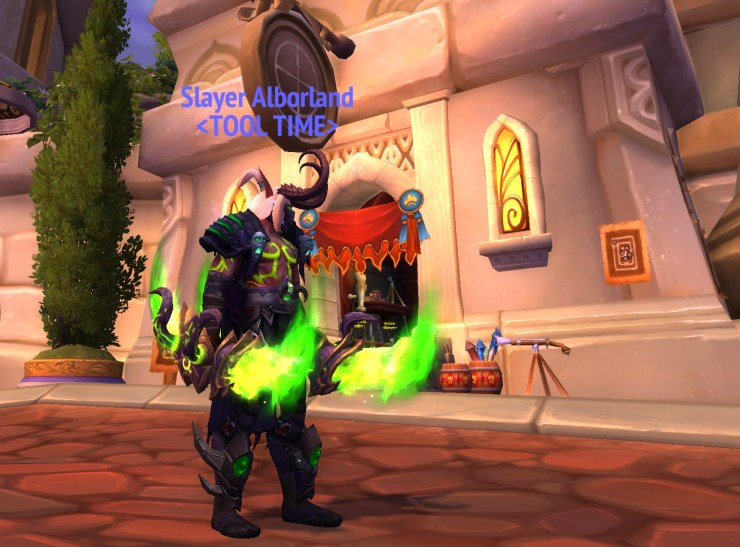 World of Warcraft: Mage Tower is active until Battle For Azeroth's pre-patch