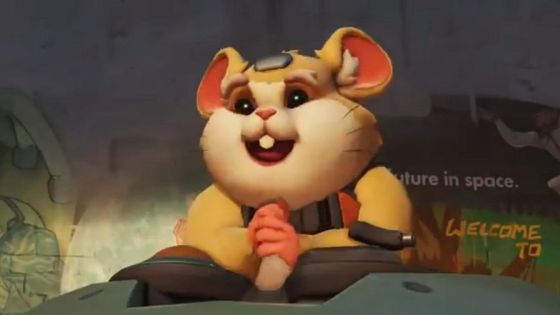 Not only is he a hamster, but you can play him on the PTR right now.