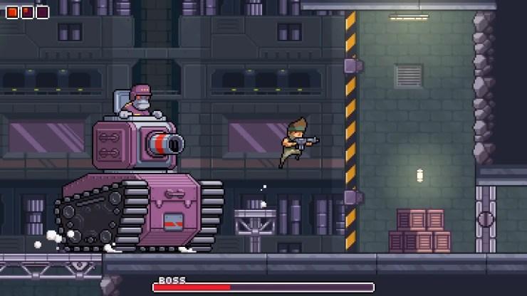 Mega Man meets Metal Slug in Omega Strike