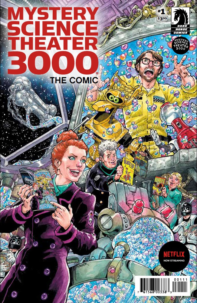 Writing, lettering, and creating Mystery Science Theater 3000 the comic book