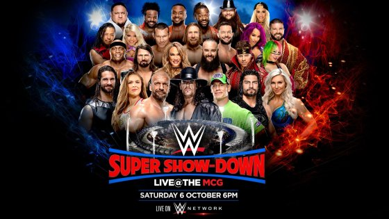 WWE announces another big card to be held overseas.