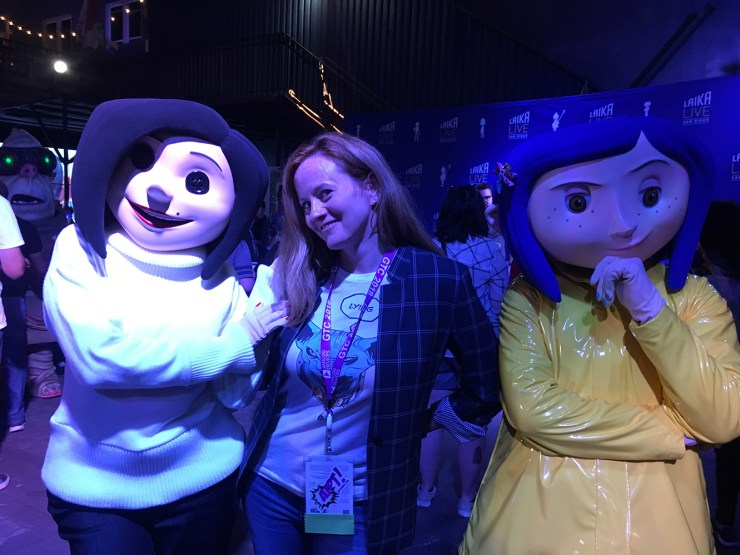 Laika Studios celebrates Coraline's 10th anniversary with behind-the-scenes tours, Teri Hatcher at SDCC