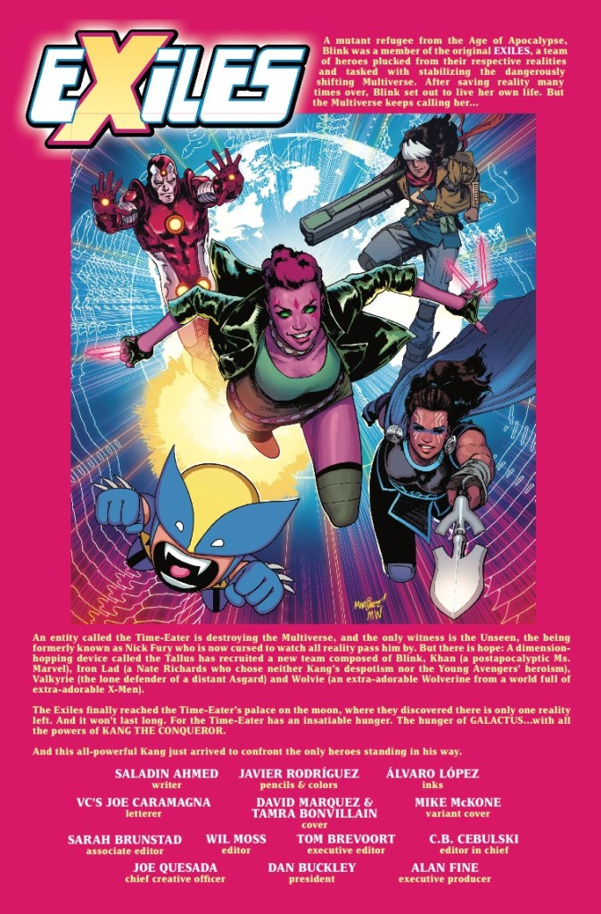 Marvel Preview: Exiles #5