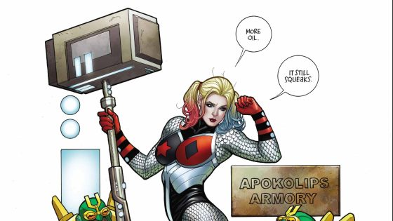 Harley Quinn is being picked out as a new Female Fury, but what's the catch?