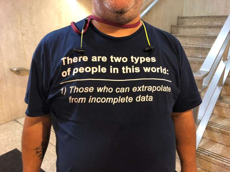 The best geeky T-shirts from NECSS 2018. For SCIENCE!