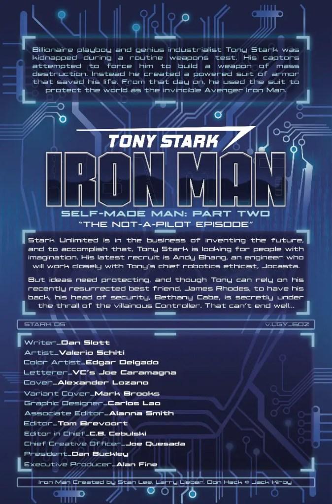 Marvel Preview: Tony Stark: Iron Man #2