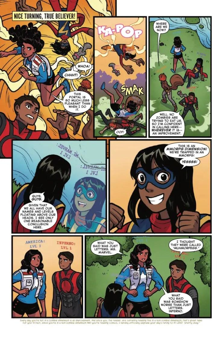 Marvel Preview: Marvel Rising: Ms. Marvel/Squirrel Girl #1