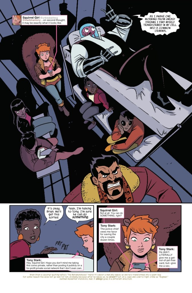 Marvel Preview: The Unbeatable Squirrel Girl #34
