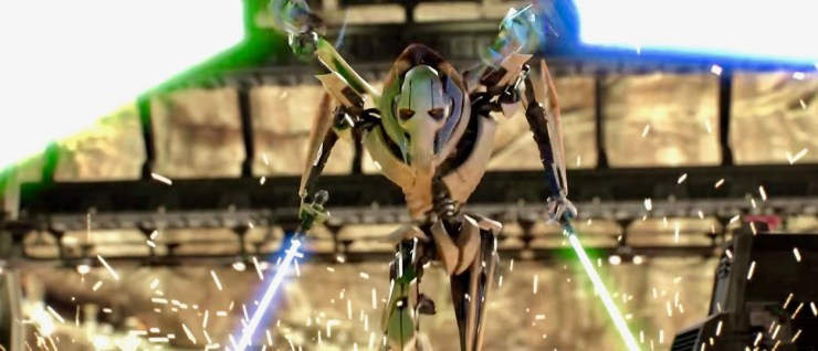 General Grievous actor Matthew Wood is open to revisiting the character for a Star Wars anthology movie