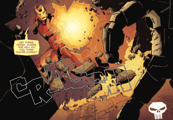 The Punisher #227 brings back the new 'Secret Empire' villain and sets up a 'Civil War' rematch