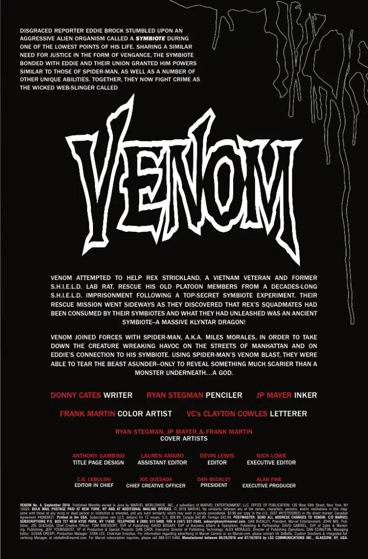 Marvel Preview: Venom #4
