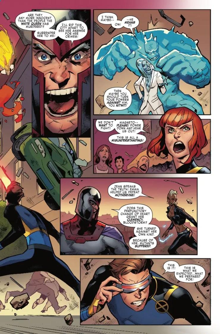 Marvel Preview: X-Men Blue #32