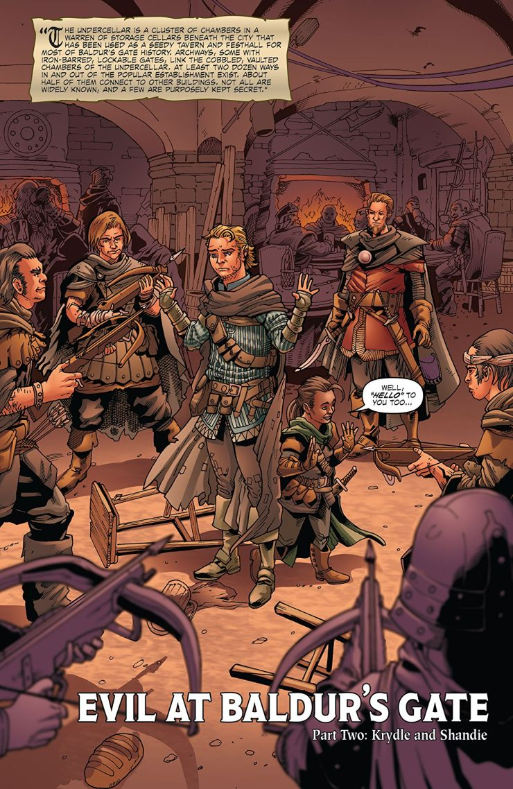 Dungeons & Dragons: Evil at Baldur's Gate #2: The Thieves get their day