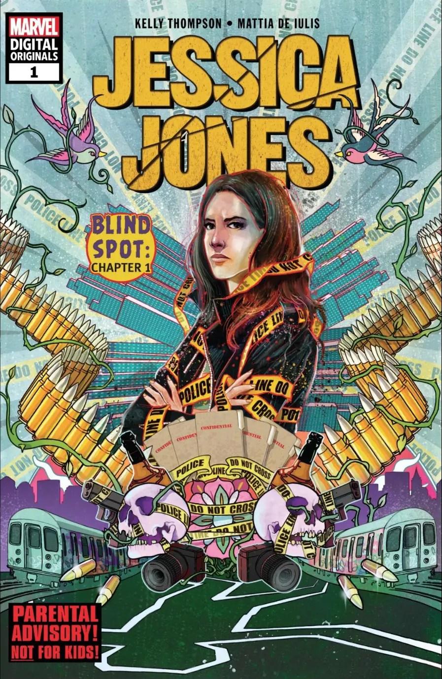 Jessica Jones #1 (Marvel Digital Originals) review: Jessica's in good hands with this new creative team