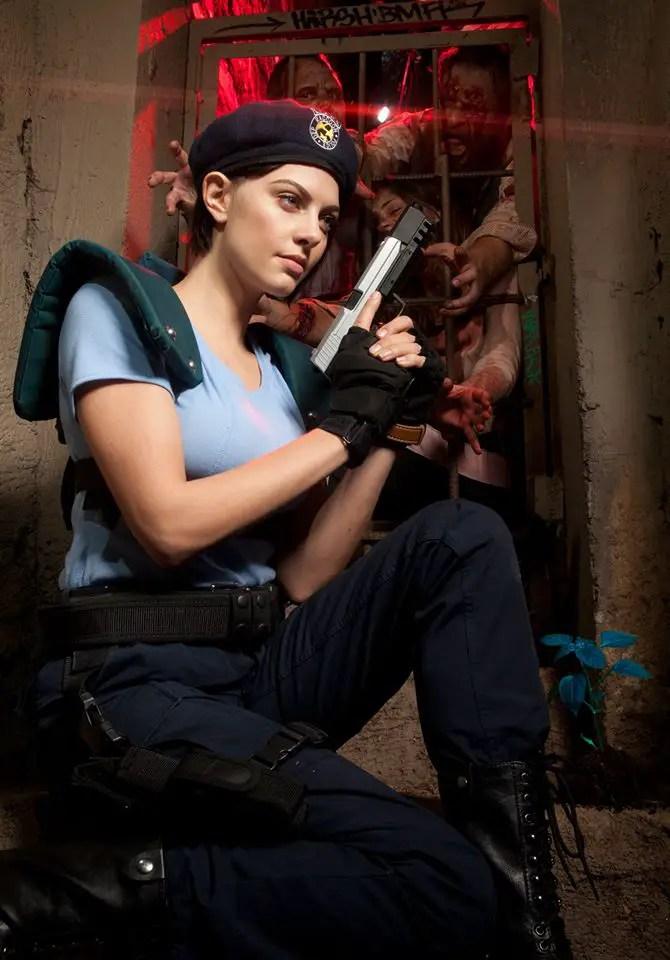 Resident Evil: Jill Valentine cosplay by Julia Voth