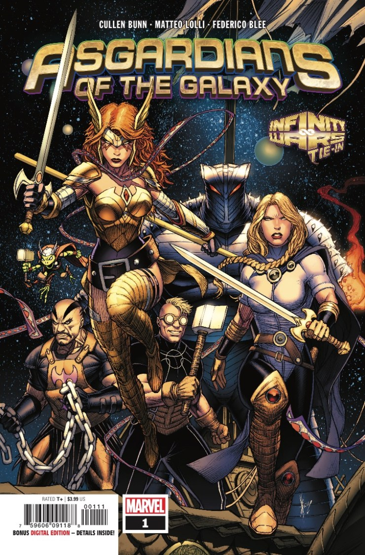 Marvel Preview: Asgardians of the Galaxy #1