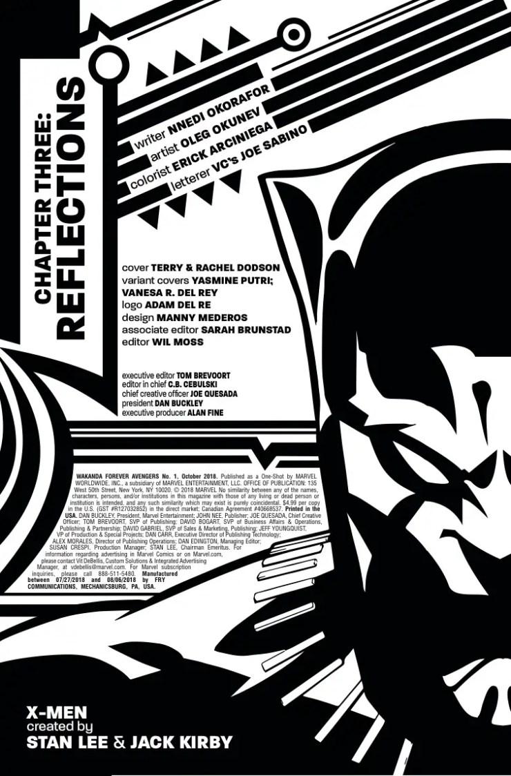 Marvel Preview: Avengers: Wakanda Forever #1