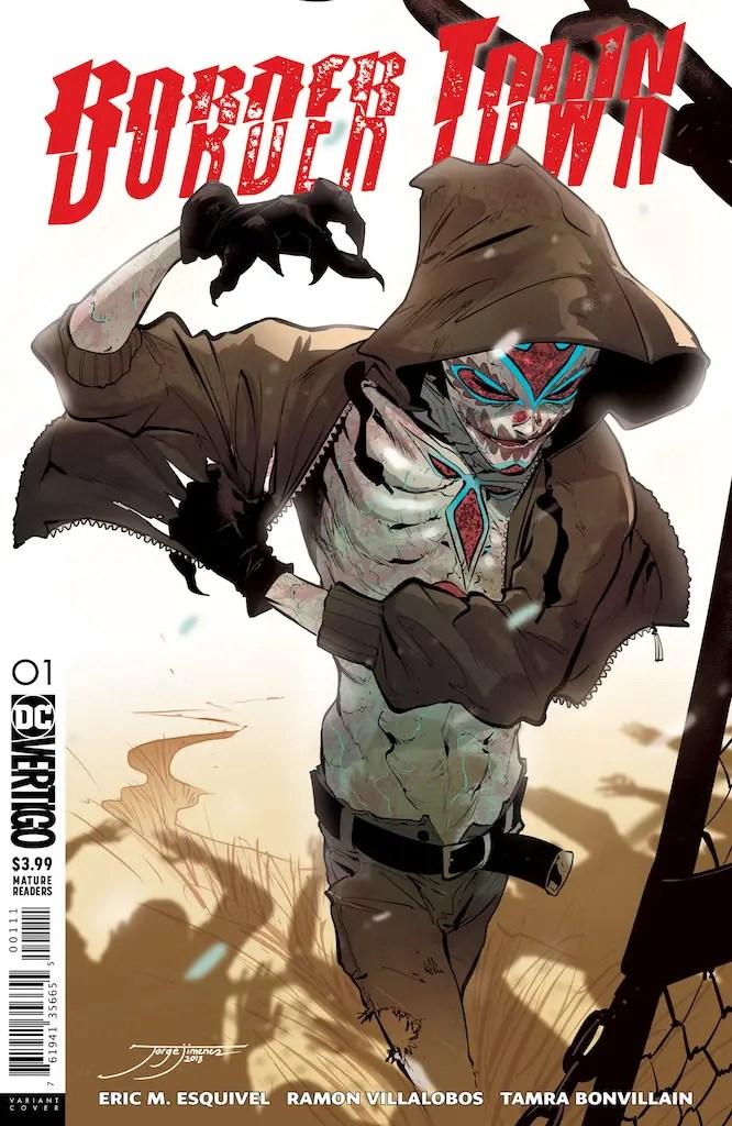 DC Vertigo Preview: Border Town #1