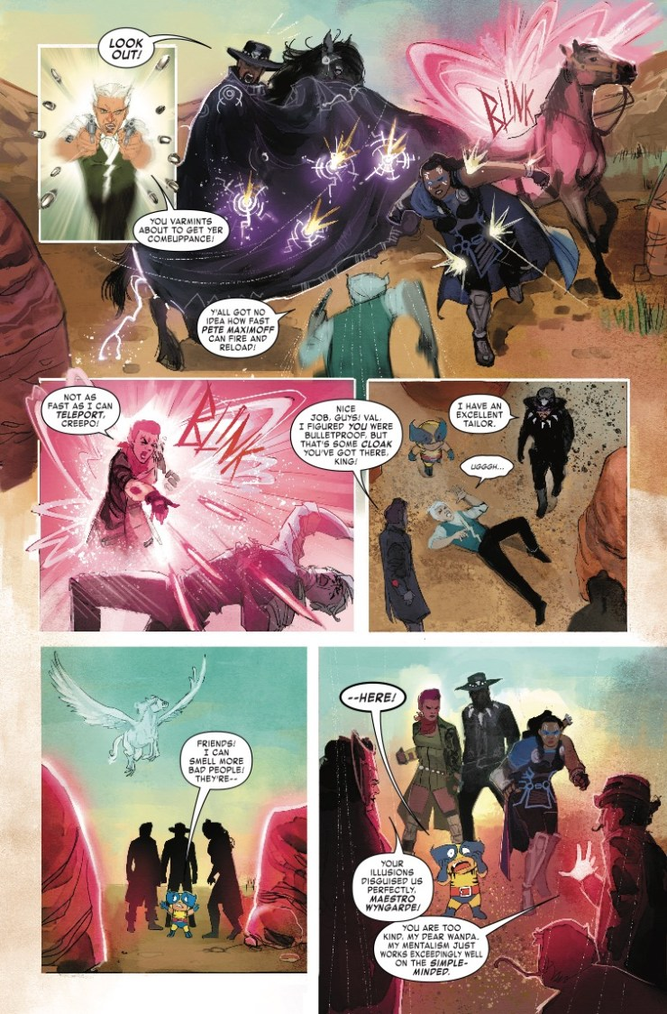 Marvel Preview: Exiles #7