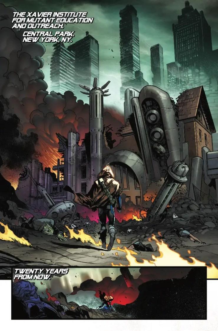 Extermination #1 review
