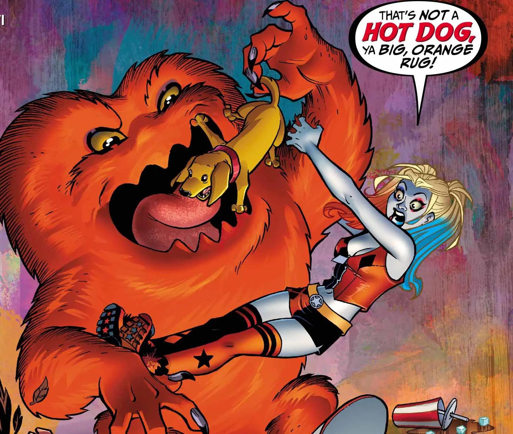 Harley Quinn/Gossamer #1 Review