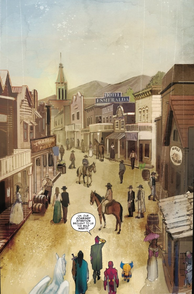 The Exiles land in the Old West!