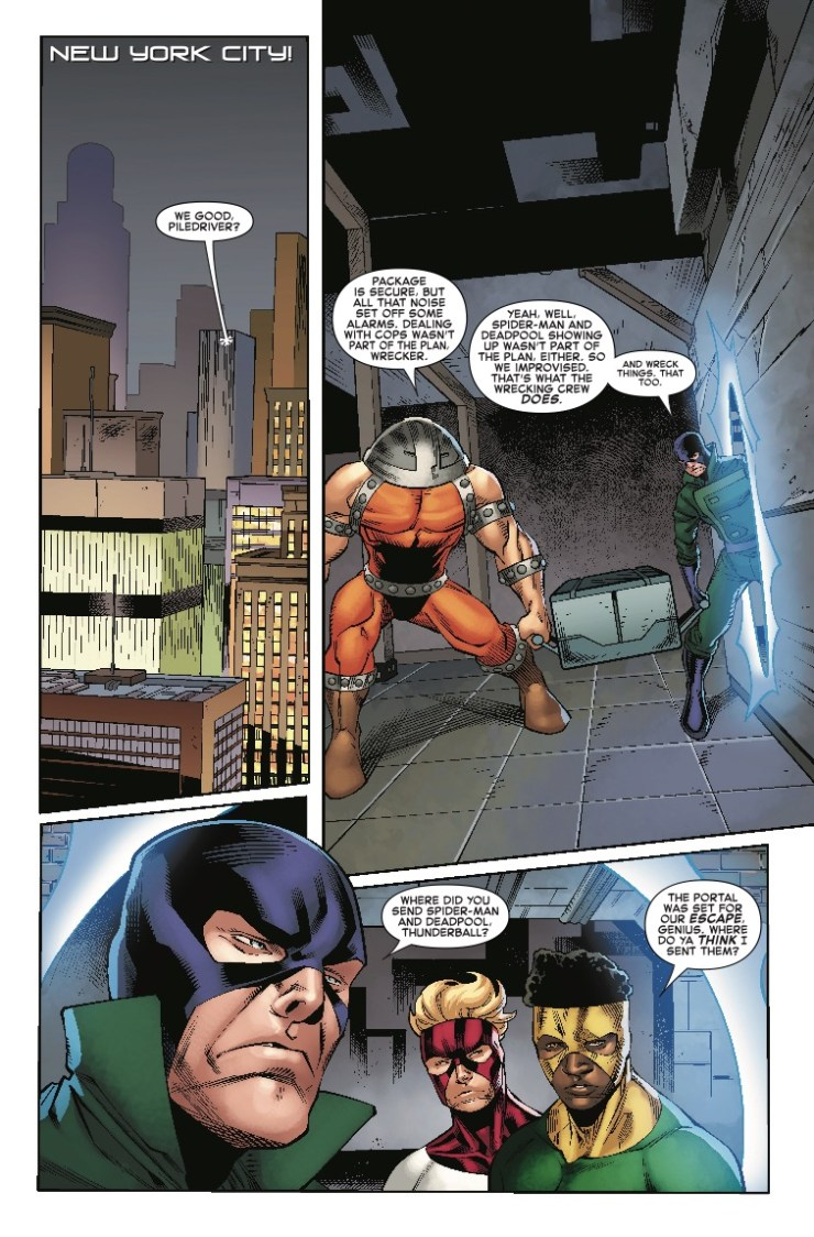 Marvel Preview: Spider-Man/Deadpool #38