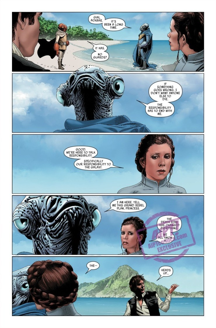 'Star Wars Vol. 8: Mutiny at Mon Cala' review: A well-written Star Wars espionage story