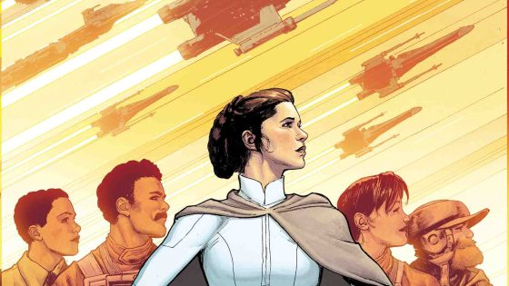 The creative team delivers yet again with a film-worthy story arc and Rebel secret mission.