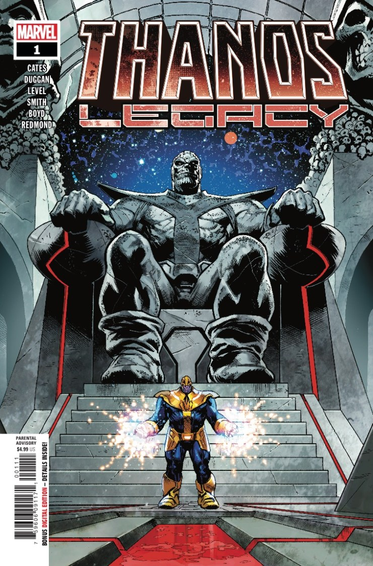 Marvel Preview: Thanos Legacy #1