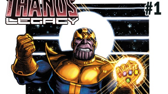 First Look: Thanos Legacy #1 - Cover by George Perez and new details
