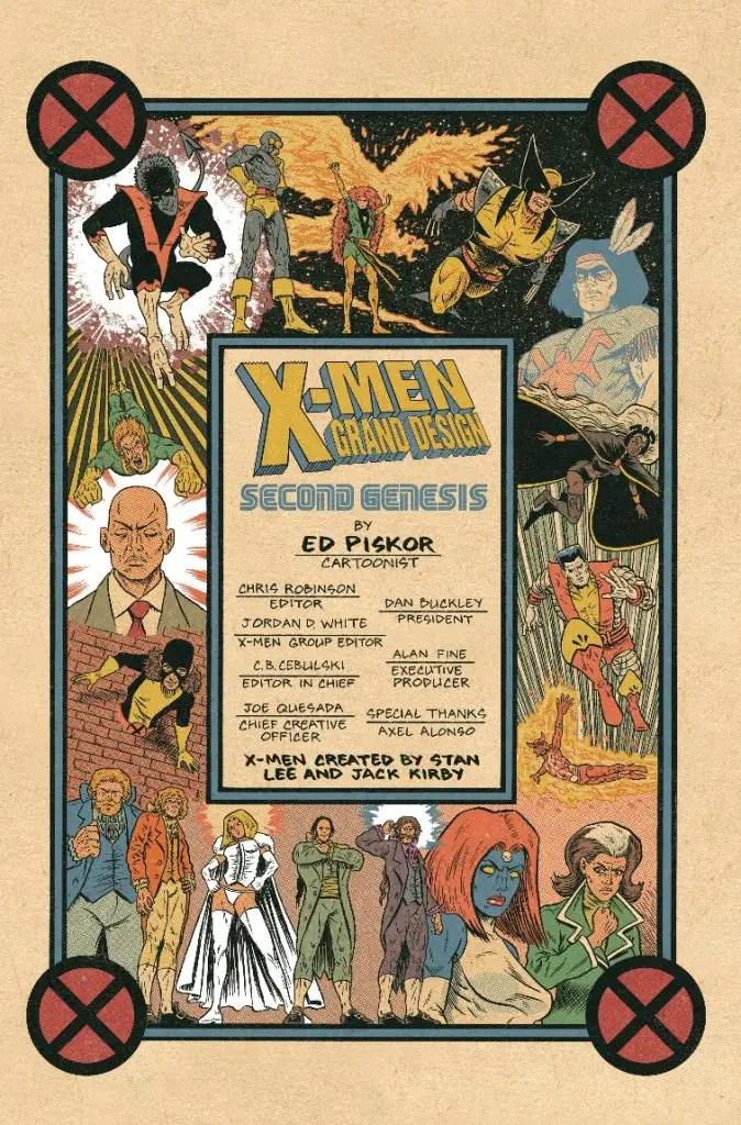 Marvel preview: X-Men: Grand Design - Second Genesis #2