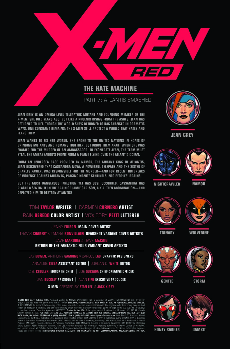 X-Men Red #7 review: They can't all be home runs