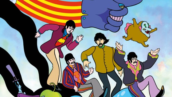 'The Beatles: Yellow Submarine' hardcover comic review: Life's just grand in a yellow sub, man