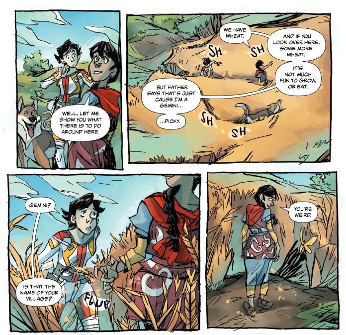 [EXCLUSIVE] Miles Greb returns to break down his science comic, 'After the Gold Rush' #3
